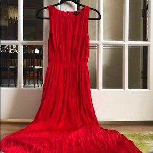 Beautiful red maxi